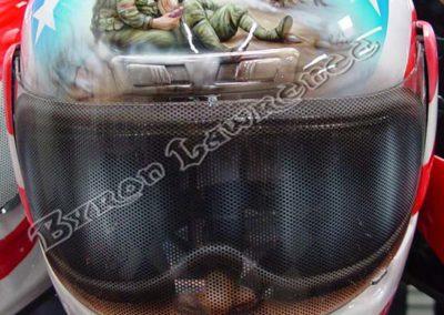 Soldier Motorcycle Helmet