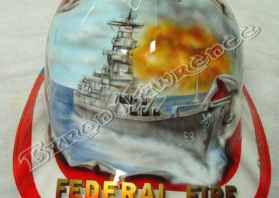 Custom Fireman Helmet
