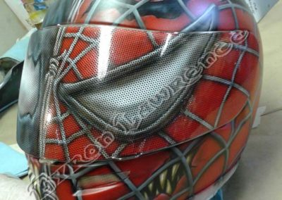 Spiderman Venom Helmet Front