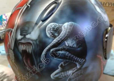 Spiderman Venom Helmet Side