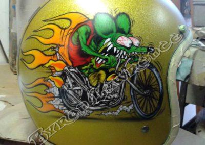 Rat Fink Custom Helmet